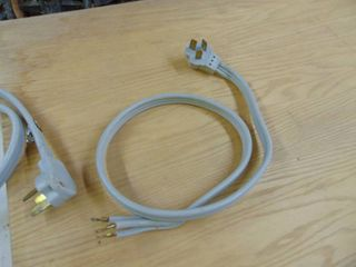 2 Electrical Plug in for dryer stove