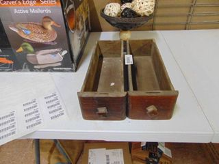 2 WoodenDecorative Shelves