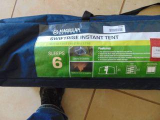 Swift Rise Instant Tent  Sleeps 6  Broken poles