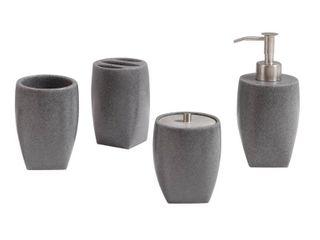 Avanity Koko 4 Piece Polyresin Bath Accessories Set