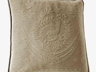 Historic Charleston King Charles Matelasse Decorative Pillow
