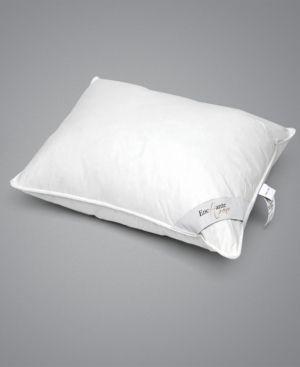 Enchante Home luxury Goose Down Queen Pillow   Medium   White