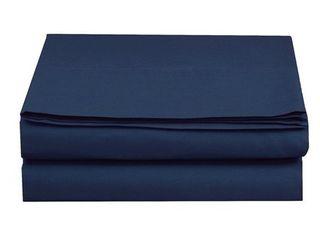 Elegant Comfort Super Soft and Wrinkle Free Flat Sheet 100  HYPOAllERGENIC