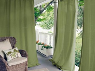 Matine Indoor Outdoor Curtain Panel Set