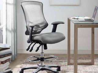 Calibrate Mesh Drafting Chair  Retail 202 49