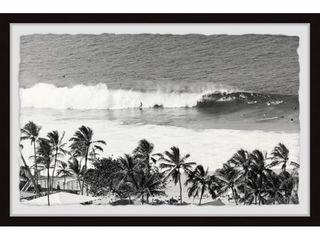 Marmont Hill   Handmade Surfing Safari Framed Print  Retail 182 49