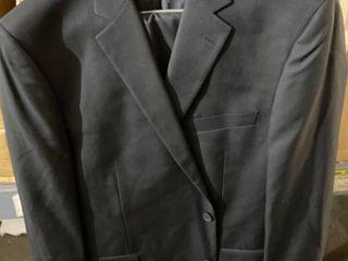 Men s 2 Piece Classic Fit 2 Button Office Dress Suit Retail 87 99
