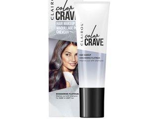 Clairol Color Crave Hair Makeup Platinum  White  1 52 fl oz