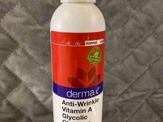 DERMA E Anti Wrinkle Cleanser   6 fl oz