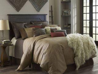 HiEnd Accents Brighton Comforter Set Super King