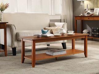 American Heritage Coffee Table Cherry   Johar Furniture