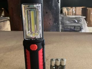 lED Work Flashlight with Batteries