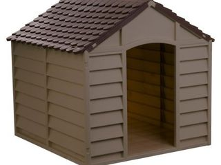 Starplast large Dog House  Mocha Brown  Retail 79 98
