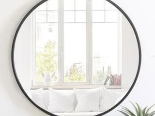 Carson Carrington labbemala Metal Frame Round Mirror  Retail 193 99
