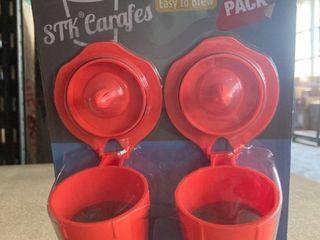 STK Carafes 2 Pack Reusable Filter for Keurig 2 0 Brewers