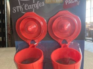 STK Carafes 2 Pack Reusable Filter for Keurig 2 0 Brewers