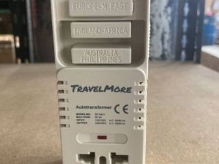 TravelMore Autotransformer International Outlet Converter