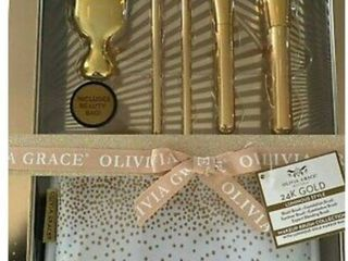 Olivia Grace 24k Gold Makeup Gift Collection