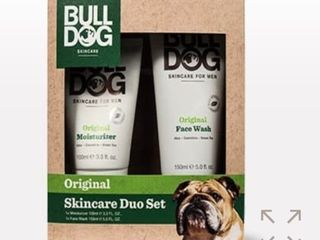 Bulldog Skincare Original Skincare Duo Set Moisturizer Face Wash Men