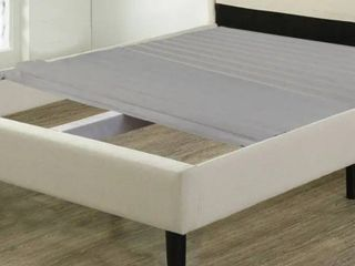 ONETAN  0 75 Inch Heavy Duty Mattress Support Wooden Slats Bunkie Board With Cover  Retail 106 99