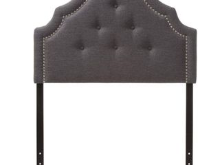 Baxton Studio Cora Modern and Contemporary Upholstered Headboard