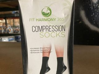 Set of 2 Pairs Fit Harmony 365 Compression Socks