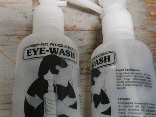 New Emergency Eye Wash Bottles