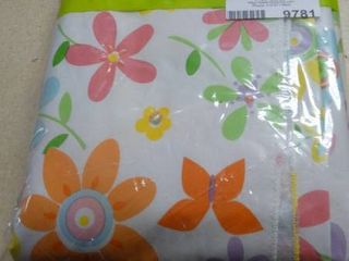Oblong Flower Table Cloth