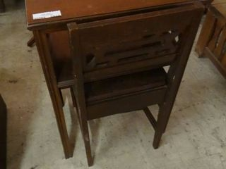 Vintage School Desk with Matching Chair