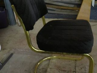 Padded Black Chair