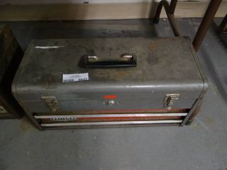 Craftsman Metal Tool Box with Contents