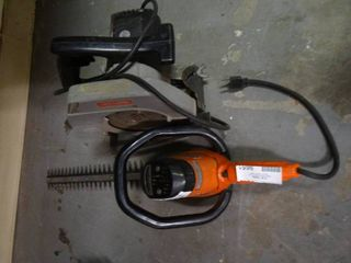 Craftsman Hedge Trimmer and Craftsman Circular saw