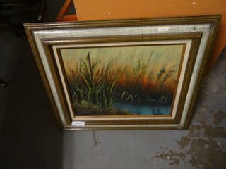Framed Painting by Beltra Patterson