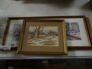lot of Framed Prints