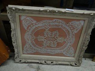 large Framed Dollie