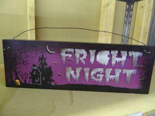 Halloween light Up Sign