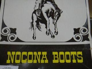 Nocona Boots Size 9A