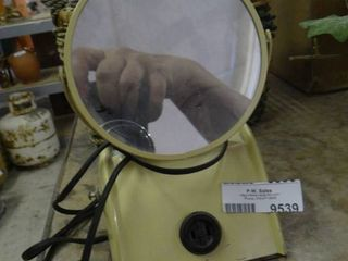 Vintage Cosmetic Mirror with light and Outlet