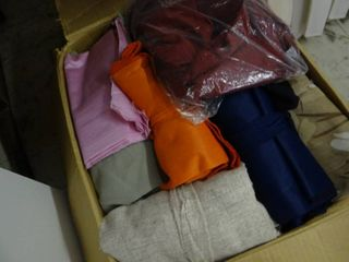 Box of Fabric Remnants