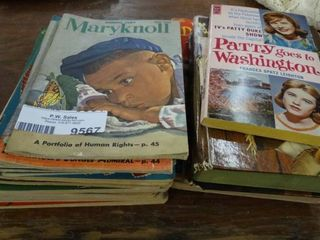 Vintage Childrens Magazines and Books