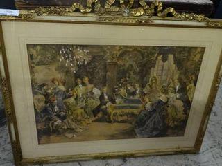 large Framed Victorian Art