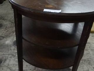 Antique 3 Tier Side Table