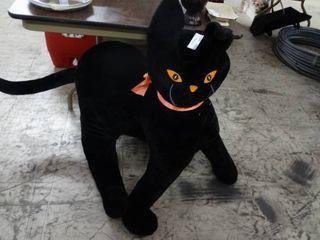 Giant Stuffed Halloween Cat