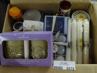 lot of Scented Candles