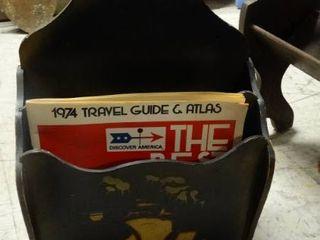 Antique Magazine Rack