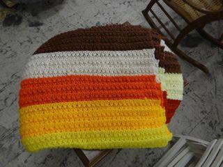 Handmaid Afghan Full Size Blanket