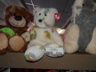 2 Teddy Bears and a Rabbit made from Old Blanket