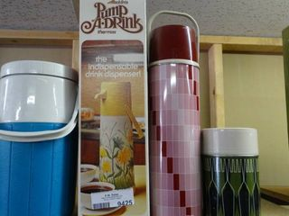 lot of Jug and 3 Thermos