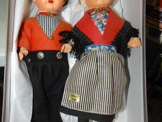 Pair of Dutch Dolls