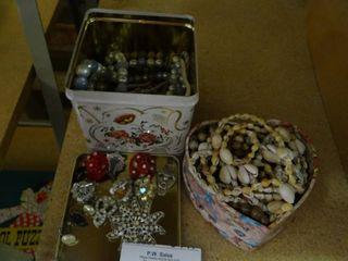 Asst Vintage Jewelry